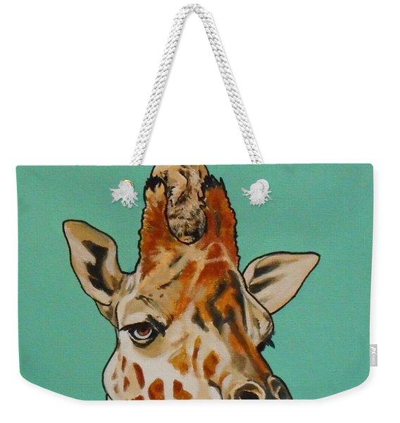Gerald The Giraffe Weekender Tote Bag