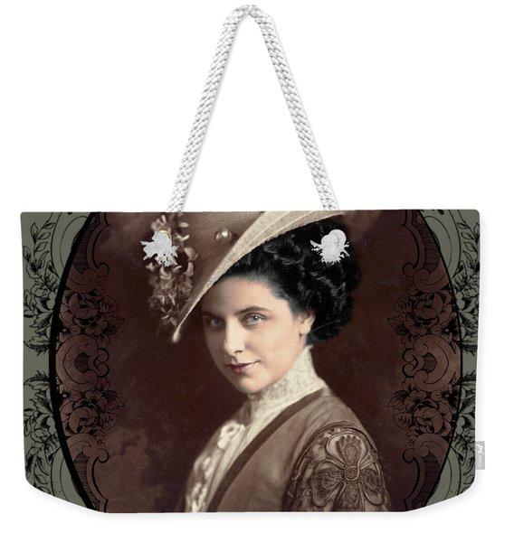 Geraldine Farrar Weekender Tote Bag