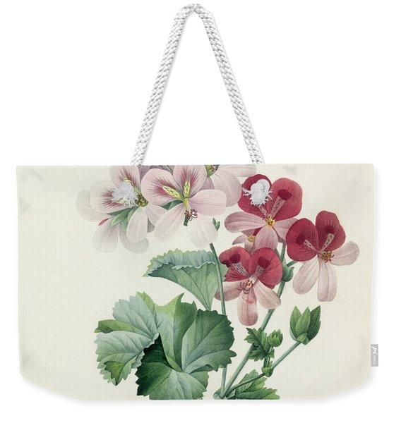 Geranium Variety Weekender Tote Bag