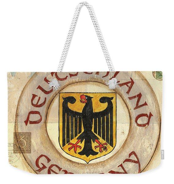 German Coat Of Arms Weekender Tote Bag