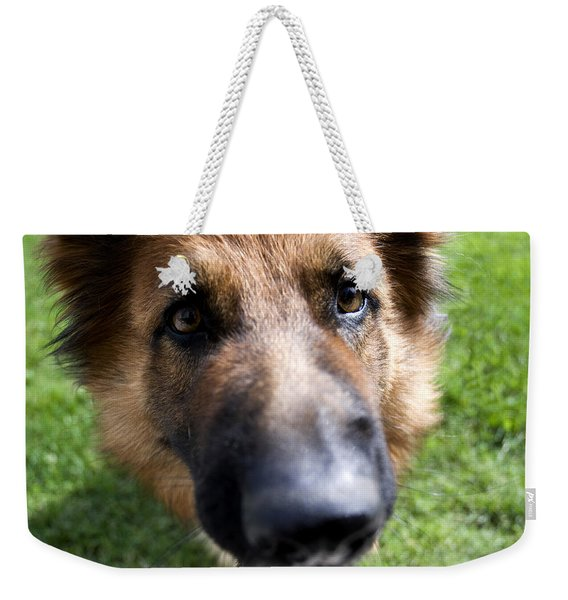 German Shepherd Dog Weekender Tote Bag