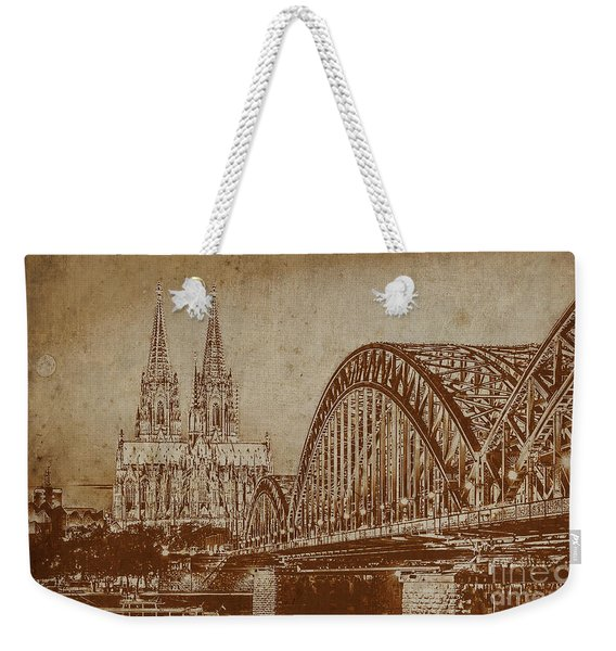 Germany Bridge 0401 Weekender Tote Bag