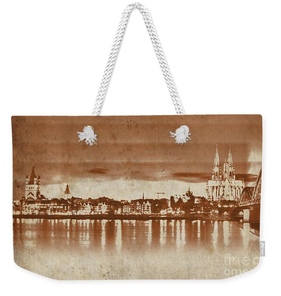 Germany Bridge 091 Weekender Tote Bag