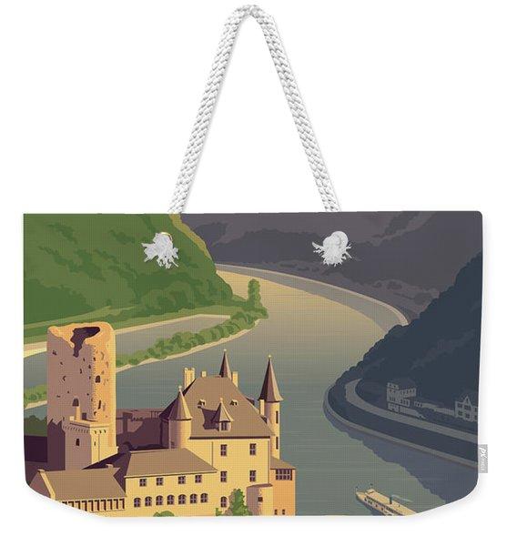 Germany Retro Poster Weekender Tote Bag