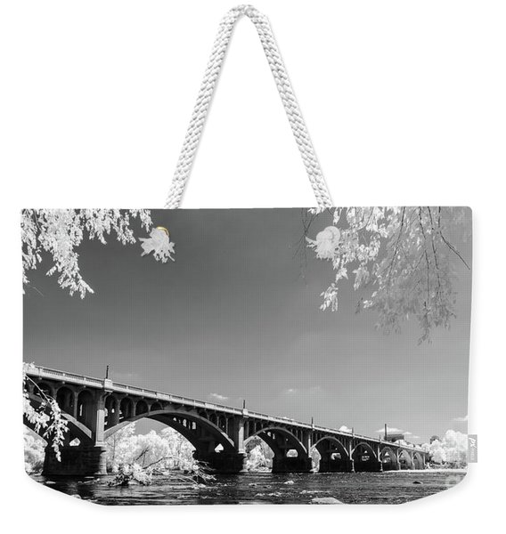 Gervais Street Bridge In Ir1 Weekender Tote Bag