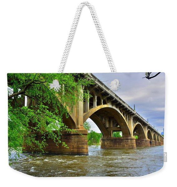 Gervais Street Bridge Weekender Tote Bag