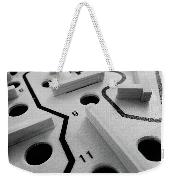 Get Me To The Finish Weekender Tote Bag