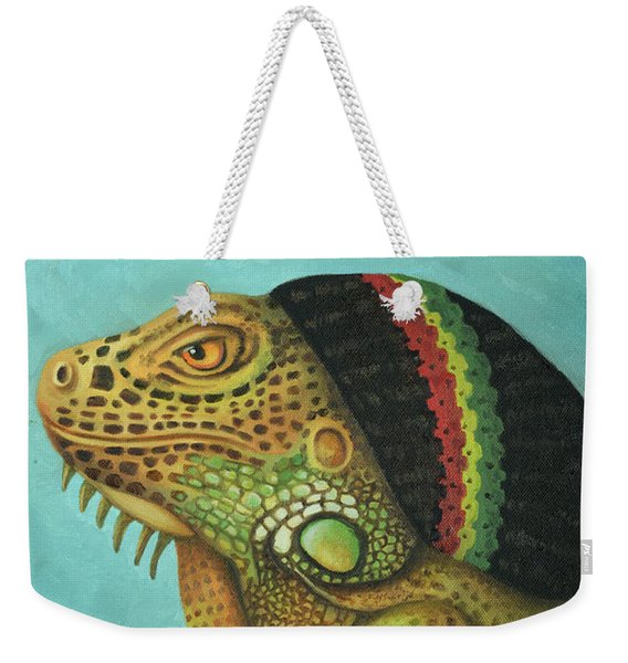 Get Medicated Detail Weekender Tote Bag