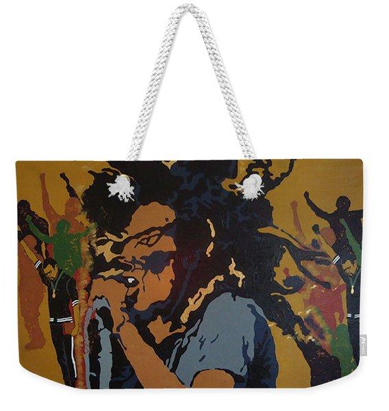 Get Up Stand Up Weekender Tote Bag