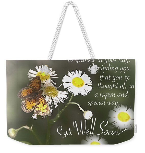 Get Well Soon - Greeting Card Weekender Tote Bag