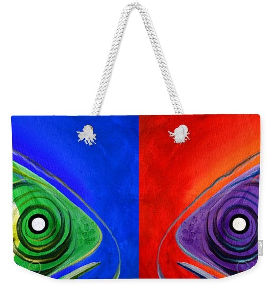 Get Your Fish Face Outta My Face Weekender Tote Bag