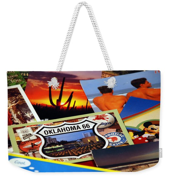 Get Your Kicks... Weekender Tote Bag