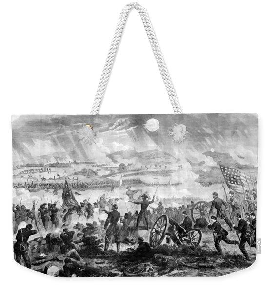 Gettysburg Battle Scene Weekender Tote Bag