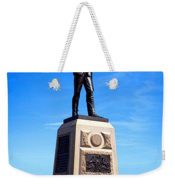 Gettysburg National Park 11th Pennsylvania Infantry Memorial Weekender Tote Bag