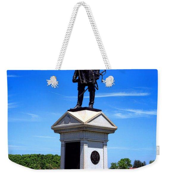 Gettysburg National Park Abner Doubleday Memorial Weekender Tote Bag