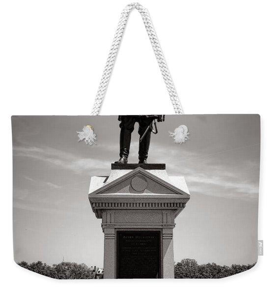 Gettysburg National Park Abner Doubleday Monument Weekender Tote Bag