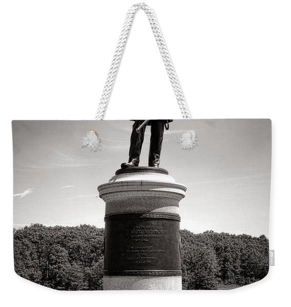 Gettysburg National Park James Samuel Wadsworth Monument Weekender Tote Bag