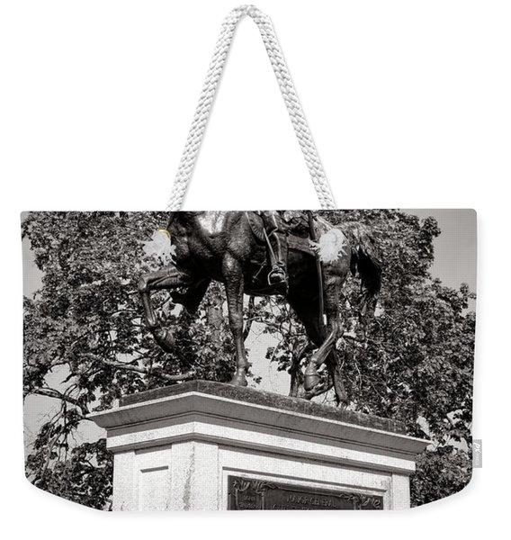 Gettysburg National Park John Fulton Reynolds Monument Weekender Tote Bag