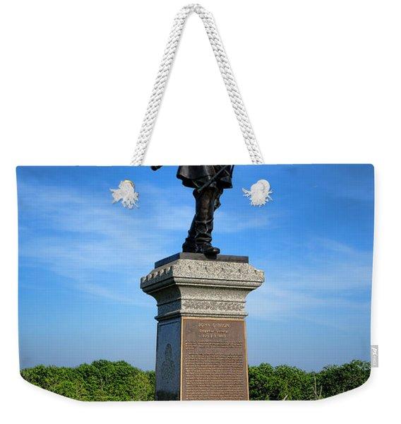 Gettysburg National Park John Gibbon Memorial Weekender Tote Bag