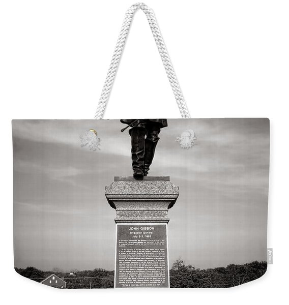 Gettysburg National Park John Gibbon Monument Weekender Tote Bag