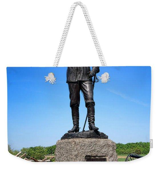 Gettysburg National Park Major General John Buford Memorial Weekender Tote Bag
