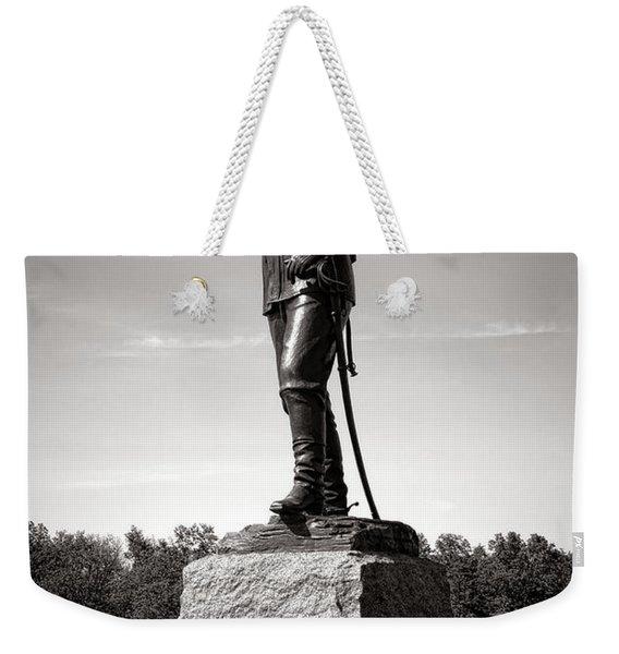 Gettysburg National Park Major General John Buford Monument Weekender Tote Bag