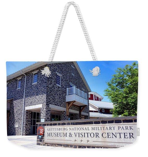 Gettysburg National Park Museum And Visitor Center Weekender Tote Bag