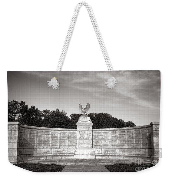 Gettysburg National Park New York Auxiliary Monument Weekender Tote Bag