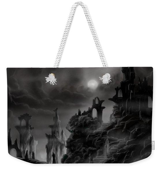 Ghost Castle Weekender Tote Bag