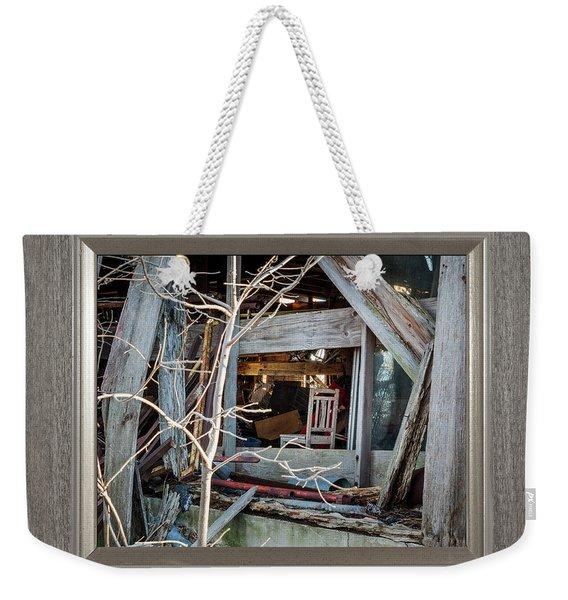 Ghost Chair Weekender Tote Bag
