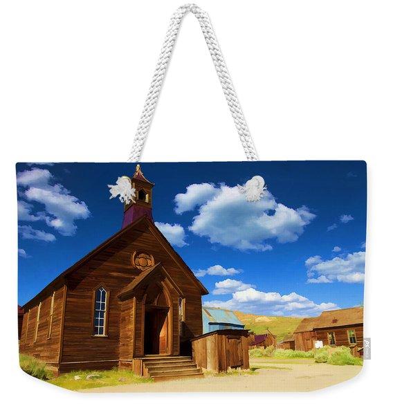 Ghost Church Weekender Tote Bag