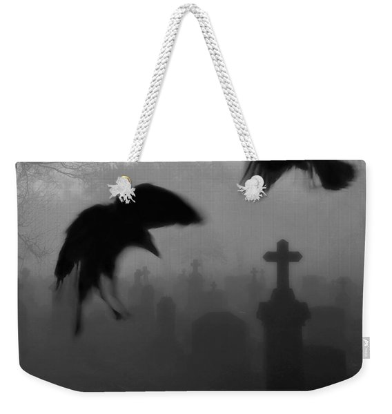 Ghost Crows Weekender Tote Bag