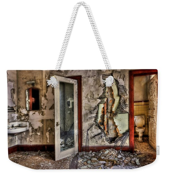 Ghost Of Time Weekender Tote Bag