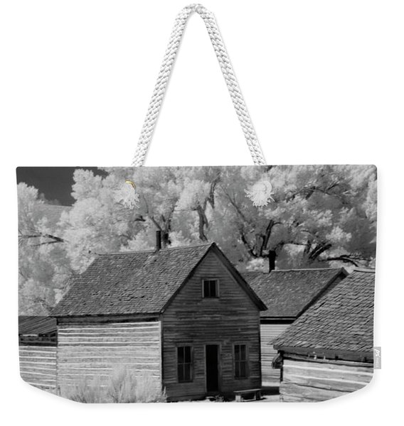 Ghost Town Bannack, Mt  Weekender Tote Bag