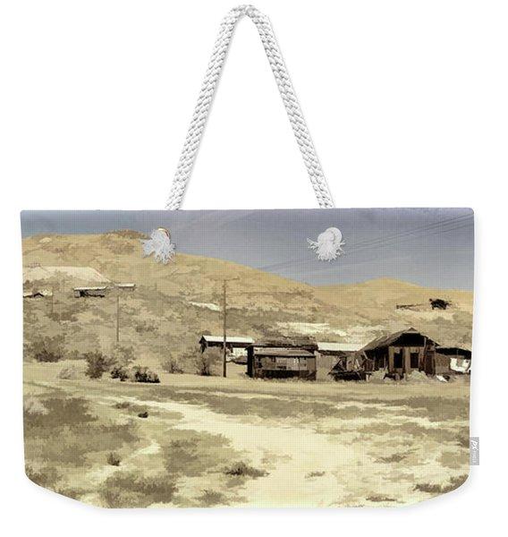 Ghost Town Textured Weekender Tote Bag