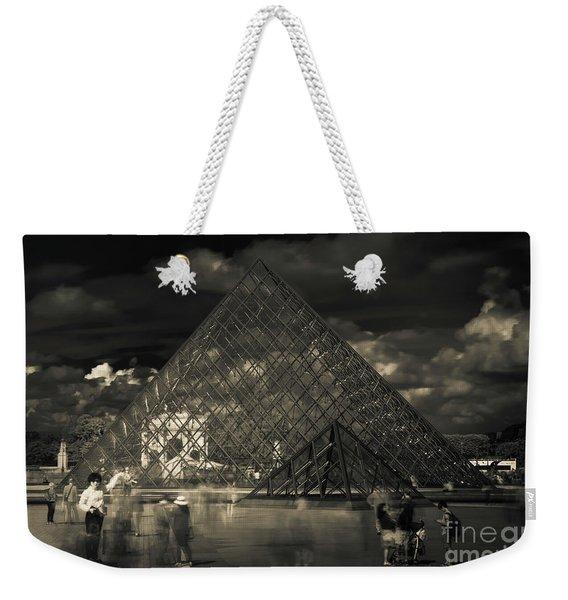 Ghosts Of The Louvre Weekender Tote Bag