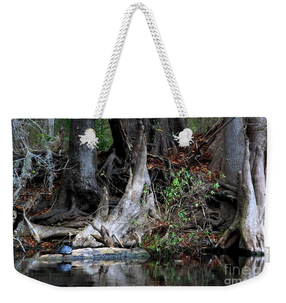 Giant Cypress Knees Weekender Tote Bag