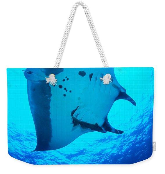 Giant Manta Ray Weekender Tote Bag