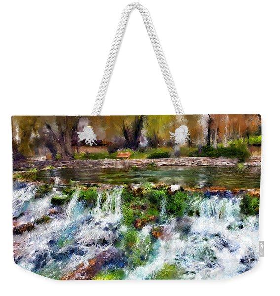 Giant Springs 1 Weekender Tote Bag