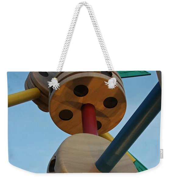 Giant Tinker Toys Weekender Tote Bag