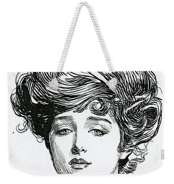 Gibson Girl Weekender Tote Bag