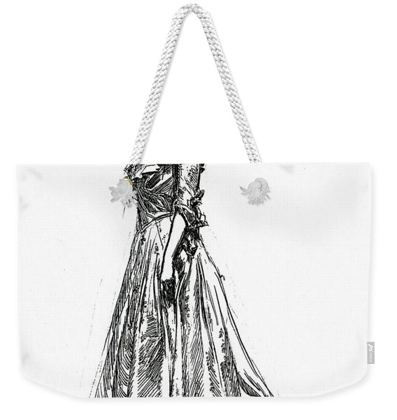 Gibson Girl From 1902 Weekender Tote Bag