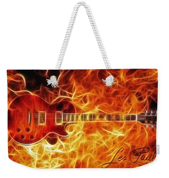 Gibson Les Paul Weekender Tote Bag