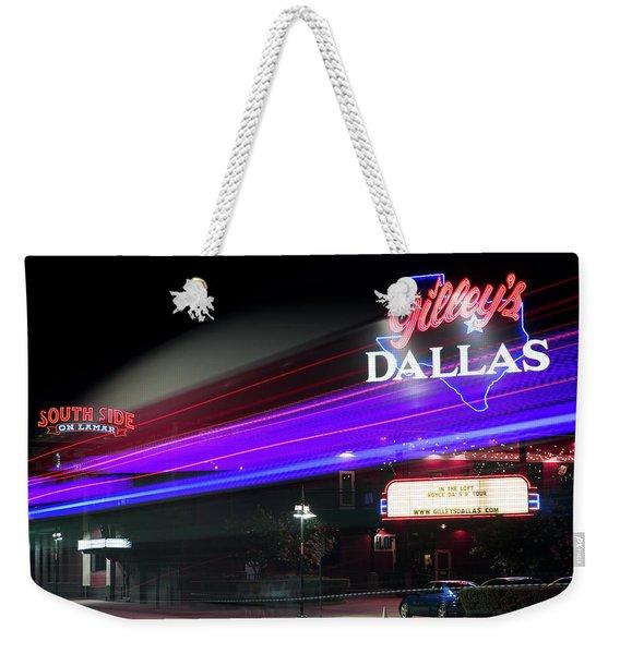 Gilley's Dallas Night Club Weekender Tote Bag