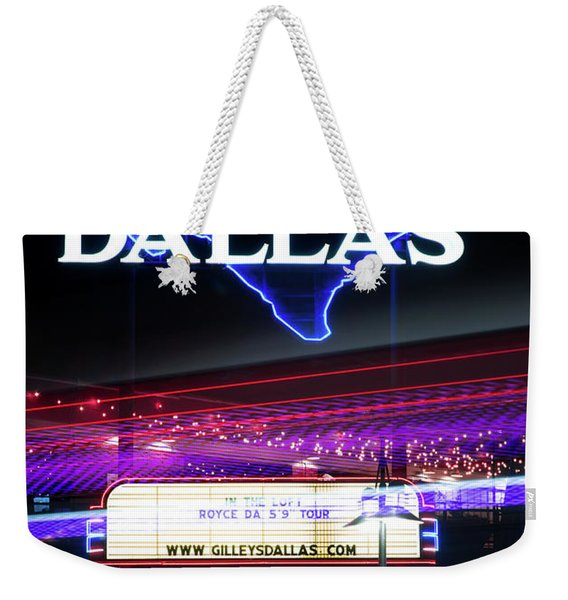 Gilley's Dallas V3 Weekender Tote Bag