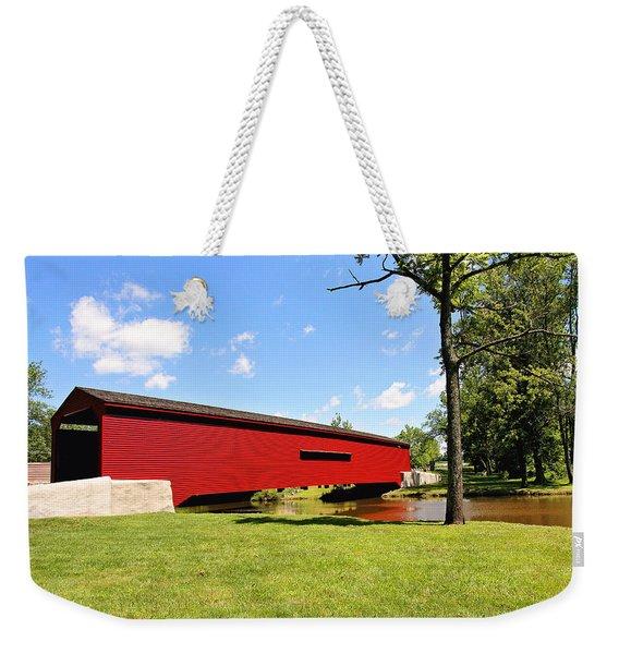 Gilpin's Falls Covered Bridge Weekender Tote Bag