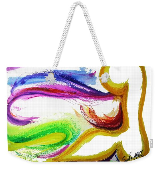 Gimel - Breathe Weekender Tote Bag