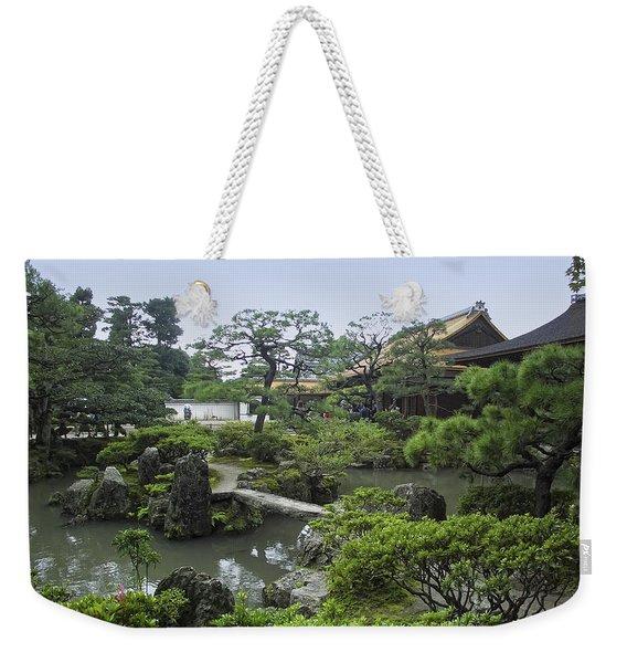 Ginkaku-ji Zen Temple No. 1 - Kyoto Japan Weekender Tote Bag