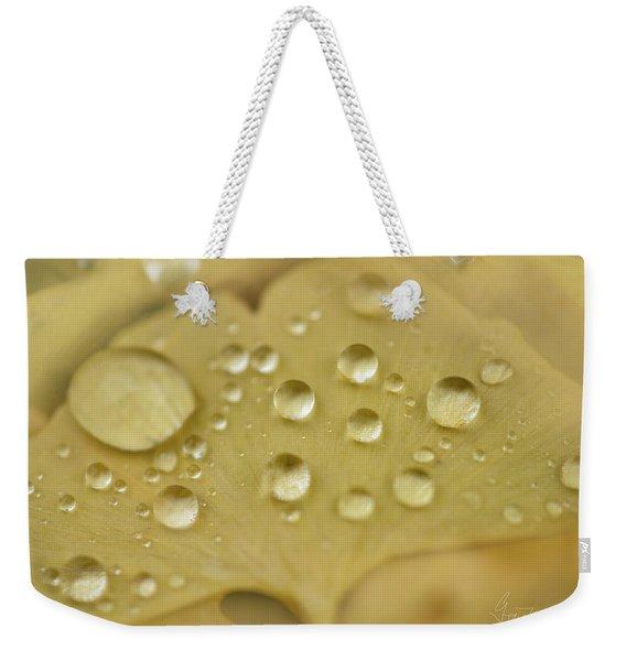 Ginkgo Balls Weekender Tote Bag
