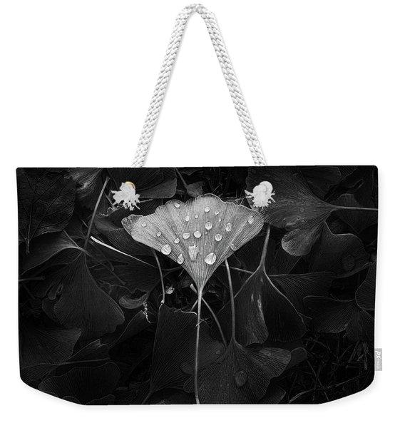 Ginkgo Weekender Tote Bag